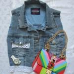 DIY: модная джинсовая жилетка своими руками