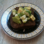 Полезный и вкусный «зеленый» бутерброд