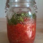 Острый мексиканский соус сальса из свежих помидоров