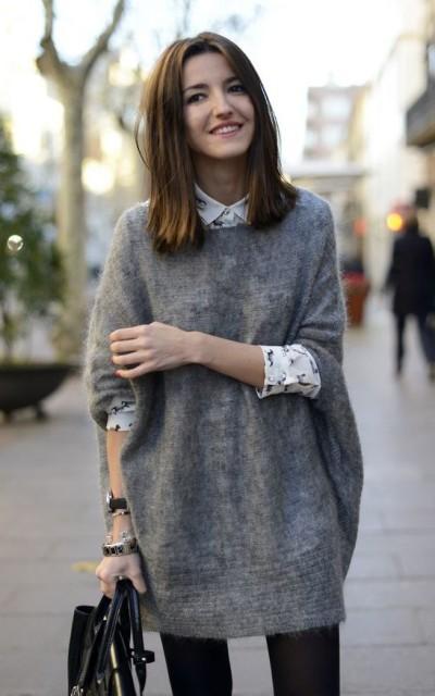 Свитер: как носить этой зимой