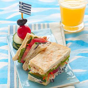 Бутерброды с хумусом