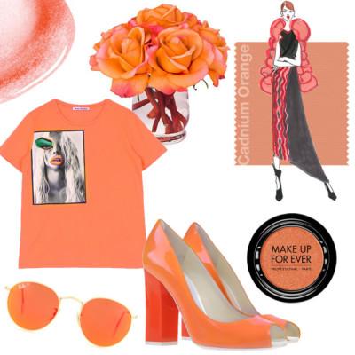 Цвет Оранжевый кадмий