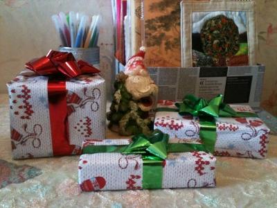 Коробочки новогодние